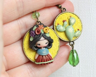 painter earrings -  made to order