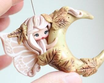 in stock /polymerclay doll,  fairy / clay / fimo / zingara creativa