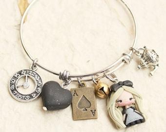 Dark Alice bracelet - made to order