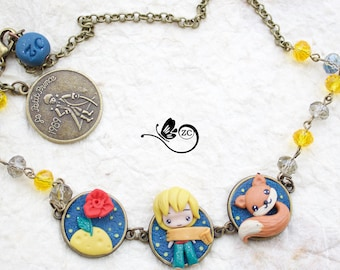 bracelet/necklace  / fimo / polymerclay / clay