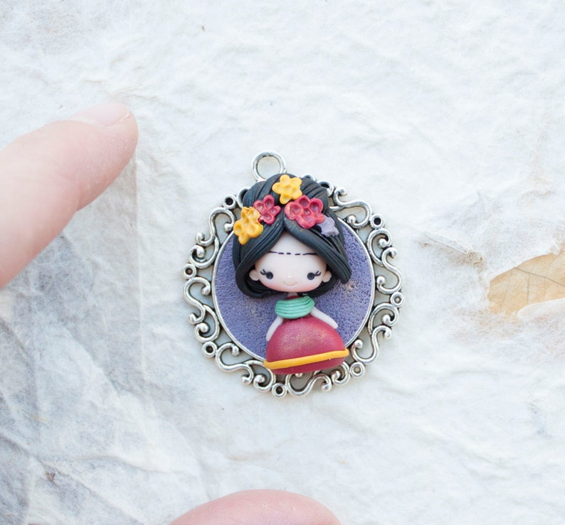 ready for shipping PETITE collection / painter polymer clay image 0