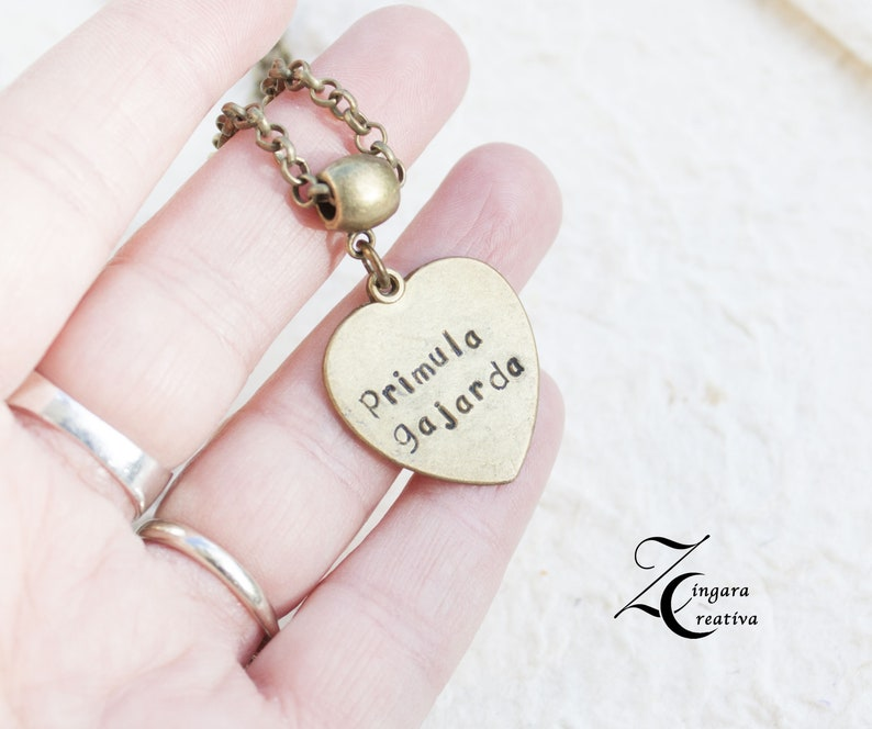 personalized necklace engraved necklace quote necklace  image 0