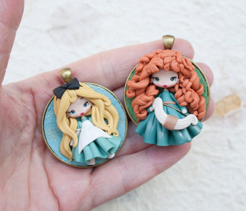 disney pendants choose  your favorite merida pendant alice image 0