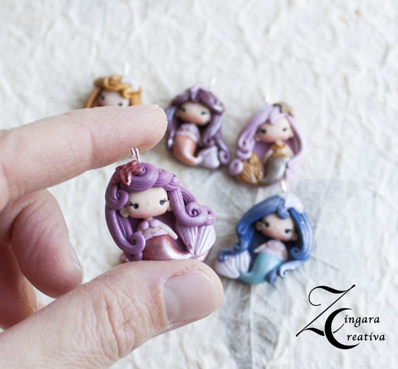 pre-order charms little  fairy  /lucky charm /pastel fairies  image 0