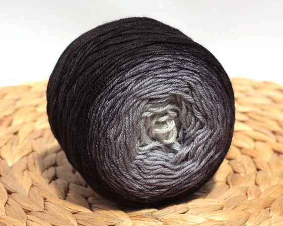 Taim2 - 400m100g colorway Luca on tussah silk base 123 Hand dyed gradient