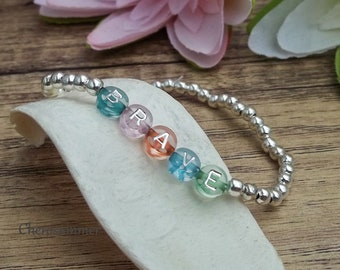 Personalized Bracelet Colorful Name