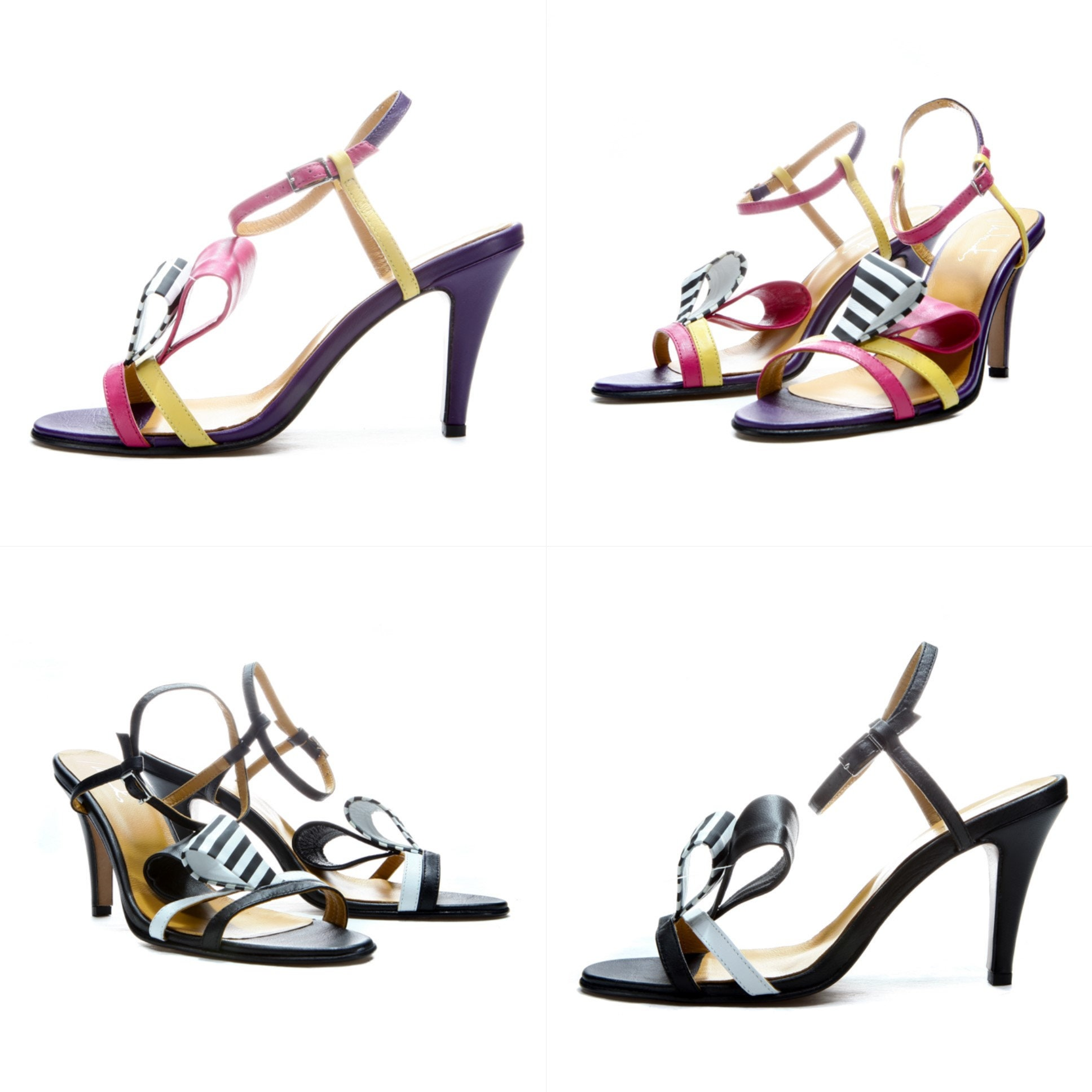Handmade Strappy sandals/ Elegant sandals/ Wedding shoes/ Unique heels/ shoes/ FREE SHIPPING/ high heels/ Unique Ankle strap/ sexy shoes/ Handmade shoes e72bea