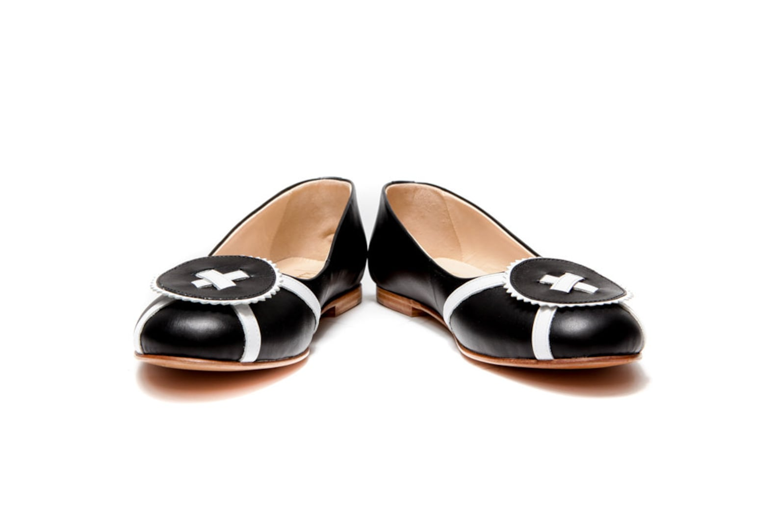 leather black ballet flats/ ballerina shoes/ women's shoes/ handmade flats/ elegant flats/ wedding shoes/ custom shoes