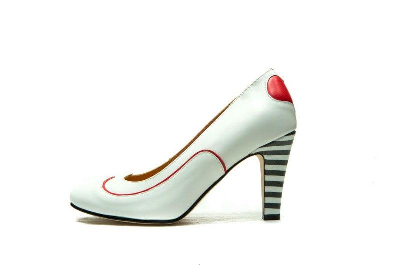 bf7168ef41 Handmade wedding shoes/ White pumps/ Women's leather shoes/ White shoes/  Handmade Bridal shoes/ Designer shoes/ Heels/ FREE SHIPPING