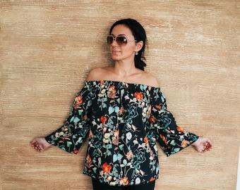 6cd1bec1a53f Off shoulder blouse