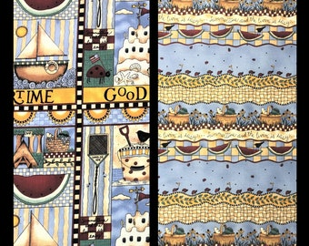 MUMMS THE WORD Vintage Fabric by Debbie Mumm - Two Prints Available