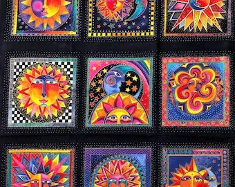 Laurel Burch Rare Oop CELESTIAL DREAMS Fabric Panel