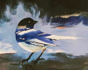 Storm Approaching- reproduction print