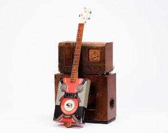 D+H Guitar Co. 'Heavy Lightnin' Cigar Box Guitar 3 String