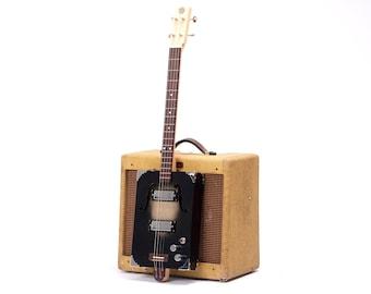 D+H Guitar Co. 'Black Jack' Cigar Box Guitar 3 String, P90 pickup