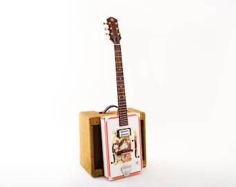 D+H Guitar Co. 'Especial Deluxe' - Great Chief Cigar Box Guitar