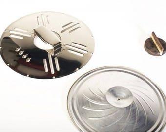 Cigar Box Guitar/ Ukulele Resonator Cone Kit 'Art Deco' Pattern