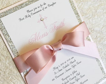 Custom Printed Upscale Invitations By LibbyKateSmiles On Etsy