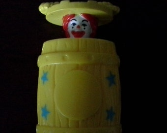 ronald mcdonald mcrodeo happy meal toy