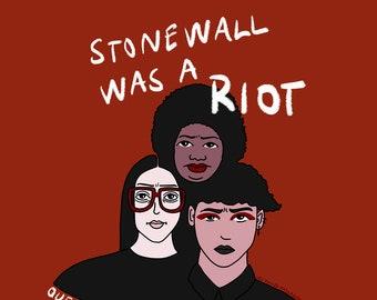 Stonewall was a riot - Impression A4