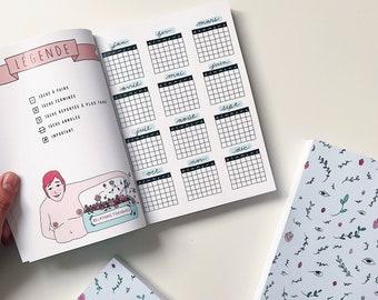 Agenda - Bullet journal à personnaliser