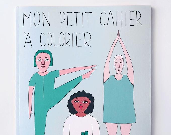 Image de l'article à la une: Mon petit cahier à colorier - Cahier d'activités pour enfants et adultes