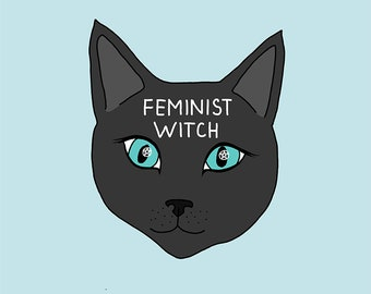 Feminist witch - Impression