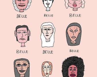 Belles - Impression