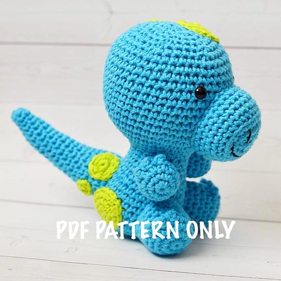 Amigurumi Doll Dinosaur Crochet Pattern DIY | 570x570