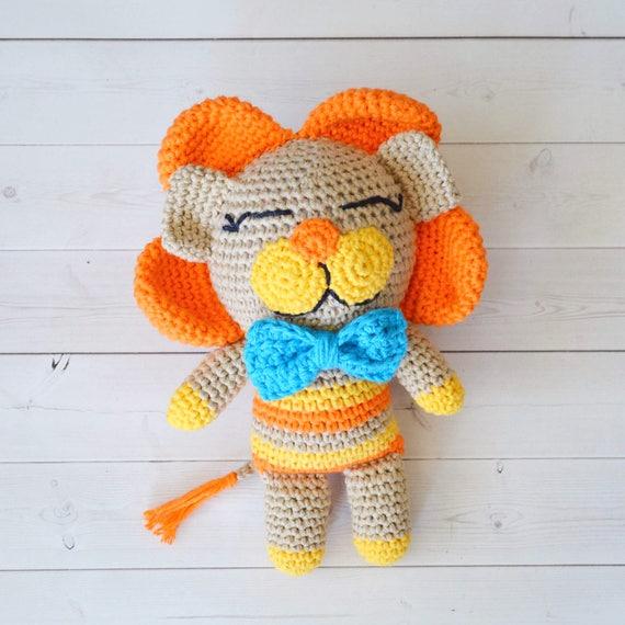 March In Like A Lion Crochet Lion Pdf Pattern Little Lion Etsy