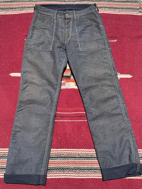 Union Special Buckle Back Pants