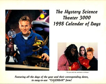 MST3K Mystery Science Theater 3000 1998 Calendar - NEW - UNUSED