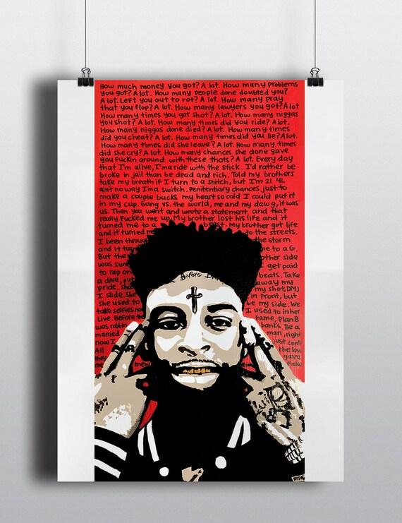 Future HNDRXX Custom Silk Poster Art Wall Decor