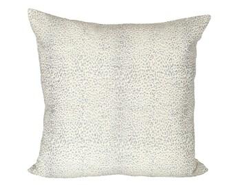 Mini Leopard Dove designer pillow covers - Made to Order - Schumacher