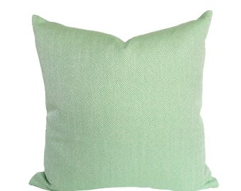 Claude Kelly Green designer pillow covers - Made to Order