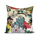 FLORAL - Chiang Mai Dragon Alabaster designer pillow covers - Made to Order