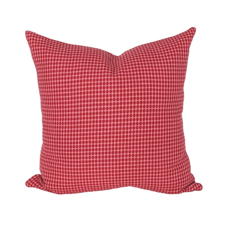 Zipster Red & Pink designer pillow