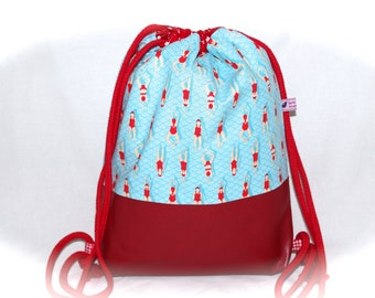 Gymnastics bag backpack swimming bag