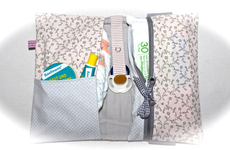Diaper bag personalized with name