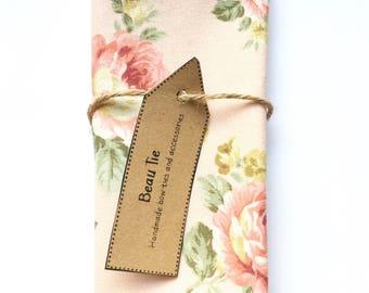 Mens pocket square, floral pocket square, pink pocket square, wedding pocket square, mens handkerchief