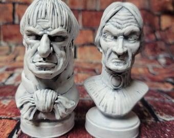 Haunted Mansions Uncle Lucius and Aunt Lucertia Mini Set