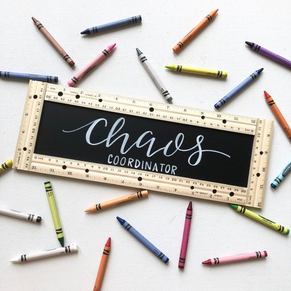 Teacher Sign \u2022 Eat Sleep Teach Repeat \u2022 Chaos Coordinator \u2022 Train Up a Child \u2022 Proverbs \u2022 Homeschool \u2022 Chalkboard \u2022 Education \u2022 School