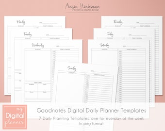 planner template etsy