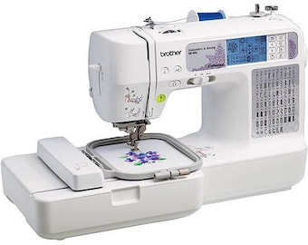Brother SE-400 Computerized Sewing and Embroidery Machine with USB cable Brand New FREE Shipping
