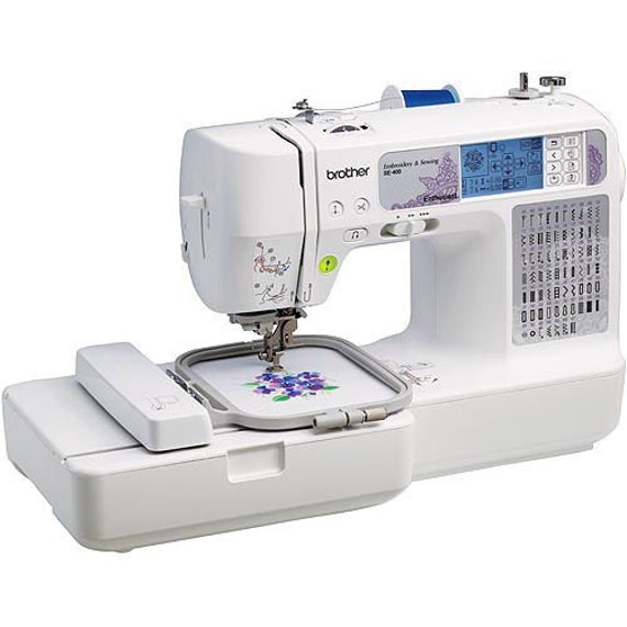 Brother SE40 Computerized Sewing And Embroidery Machine With Etsy Best Embroidery Sewing Machine Computerized