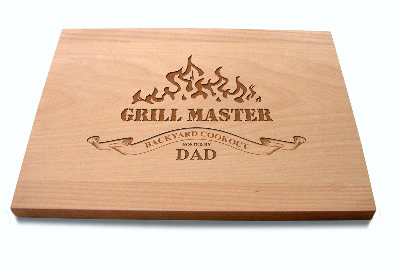 Dad es Schneidebrett Grill Master Gastgeberin Geschenk Foodie   Etsy