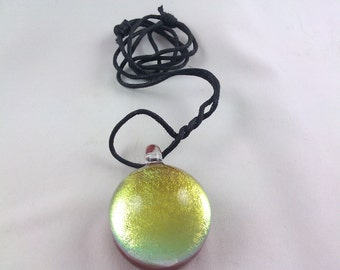 Medallion - Glass Necklace