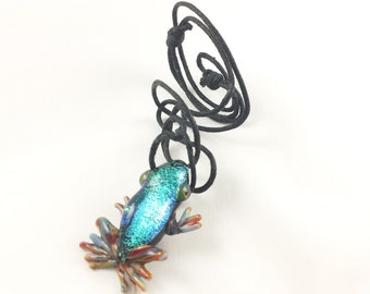 Frog - Glass Necklace