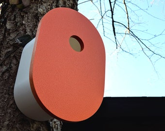 Modern Birdhouse | Orange
