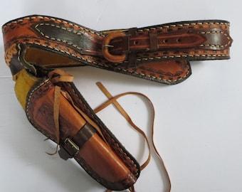 CEINTURE COWBOY, Étui à révolver, Ceinture de cuir, Jouet vintage, Jouet  enfant, Costume vintage, Cowboys accessoire, Western, Cadeau 9742ea84a0b